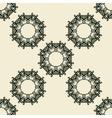 Stylized ornate seamless diagonal wallpaper vector image vector image