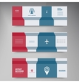 infographics Abstract background card vector image