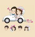 Wedding Cartoon vector image