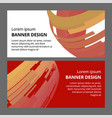 abstract modern banner background design vector image vector image