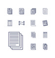 article icons vector image vector image