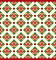 christmas geometric nordic seamless pattern vector image