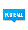 football price tag vector image vector image