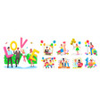 photozone accessories and decorations for events vector image
