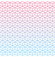 seamless geometric gradient background texture vector image vector image