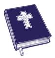 bible gospel the doctrine of christianity vector image