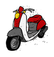 A scooter vector image vector image
