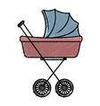 baby car small vector image vector image