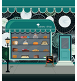 Bakery shop vector image
