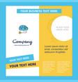 brain circuit company brochure template busienss vector image vector image