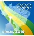 Brazil Olympic Games Poster vector image