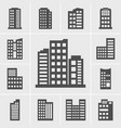 building icons vector image