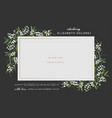 child greeting card floral elements bashower vector image vector image