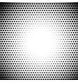 circle fade halftone dots pattern radiate half vector image