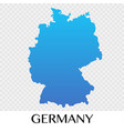 germany map in europe continent design vector image vector image