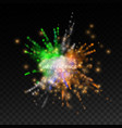 independence day india 15 august powder colorful vector image