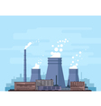 Thermal Power Station vector image