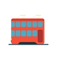 Chinese Tramway Simplified Icon vector image vector image