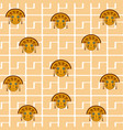 culta maya patterns background vector image