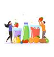 fresh fruit concept vector image