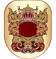 heraldry graphic vector image vector image