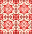 PATTERN WITH FLORAL ORNAMENTAL vector image vector image