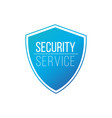 security service guard shield concept safety vector image