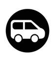 suv car icon vector image