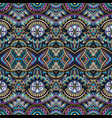 abstract ethnic rug ornamental seamless pattern vector image vector image