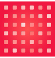 abstract red pink square pattern vector image vector image