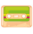 cassette for tape-recorder vector image
