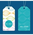 colorful horizontal ogee vertical round vector image vector image