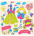 Fairy Tale Princess vector image vector image