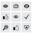 like icons set vector image vector image
