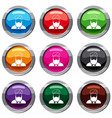 muslim preacher set 9 collection vector image vector image