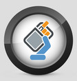pack of cigarettes icon vector image
