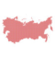 ussr map halftone icon vector image