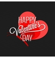 valentines day butterfly concept background vector image vector image