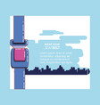 wear your seat belt vector image vector image