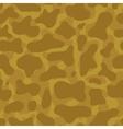 Desert camouflage seamless pattern vector image