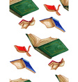 Book pattern vector image
