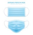3d realistic disposable protective mask