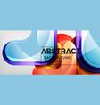 arrow background modern style geometry design vector image vector image