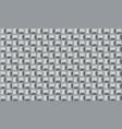 black white geometric vector image vector image