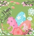 easter background design holiday vector image