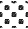 Gunkan maki icon in black style isolated on white vector image