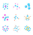 join icons set isometric style vector image vector image