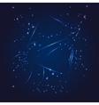 Sagittarius zodiac whith glitter star vector image