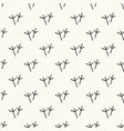 seamless pattern with trace bird paws vector image vector image