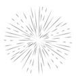 star burst element vector image
